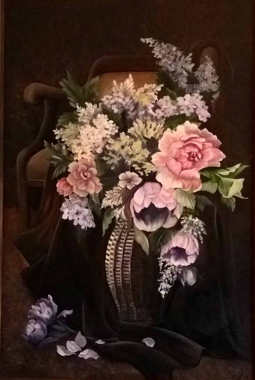 Antique Chair Bouquet